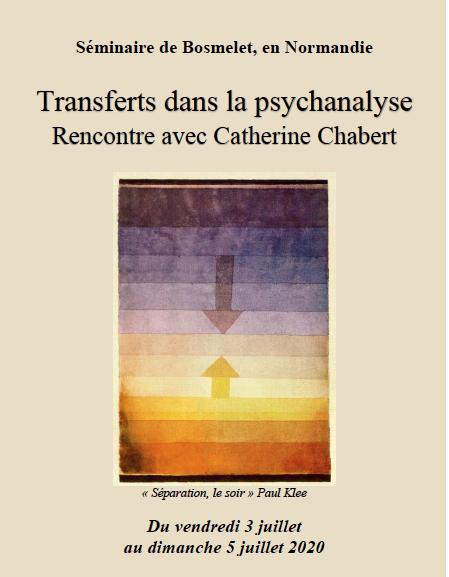 Transferts dans la psychanalyse : rencontre avec Catherine Chabert