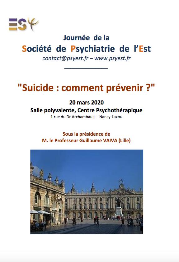 Suicide : Comment prévenir ?