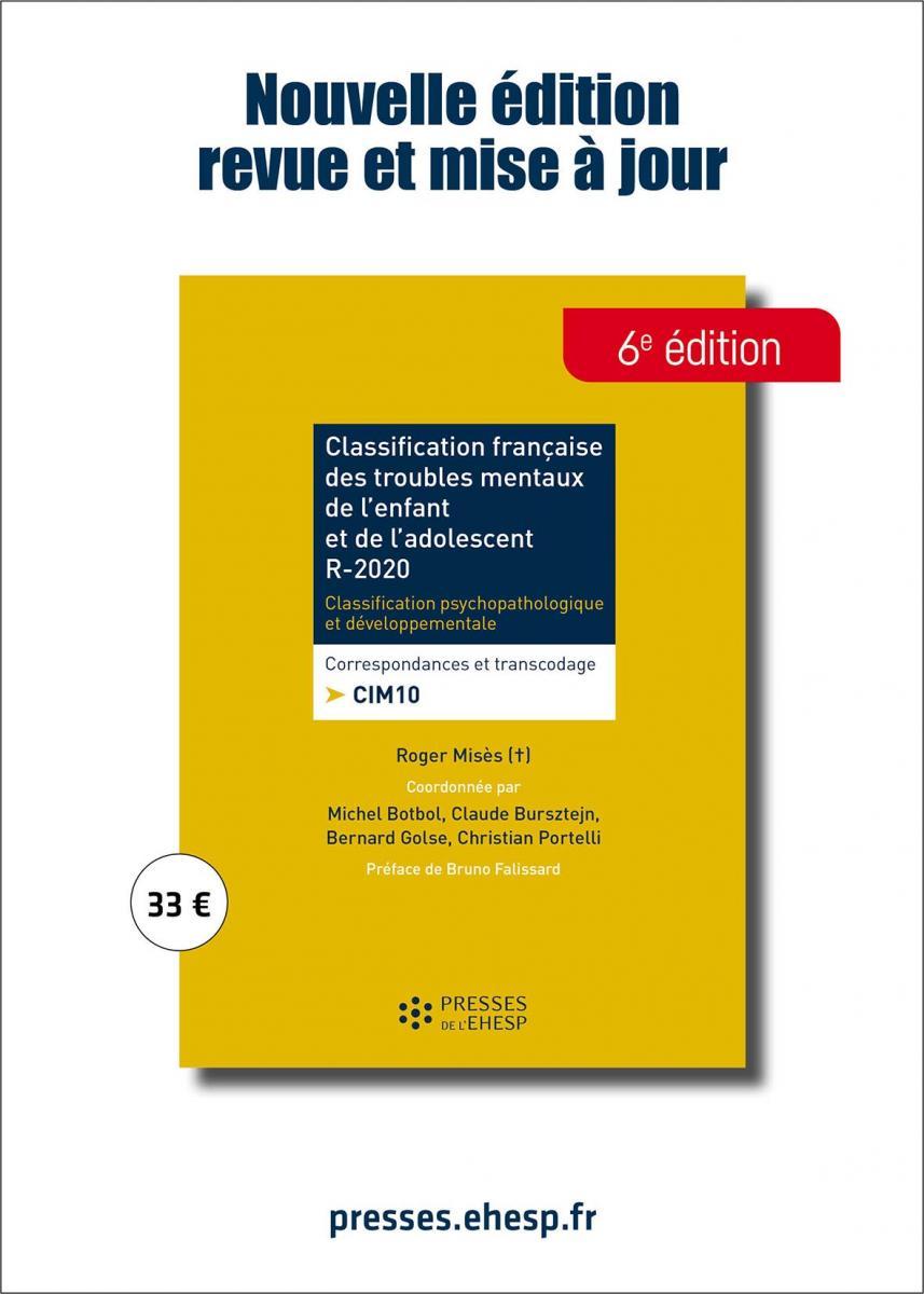 Classification française des troubles mentaux de l'enfant et de l'adolescent R2020