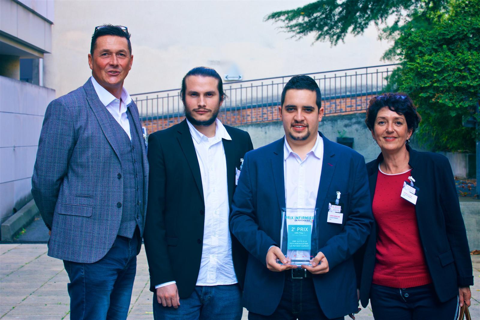 3 ème Prix : Médiateur de santé pair, retour sur investissement