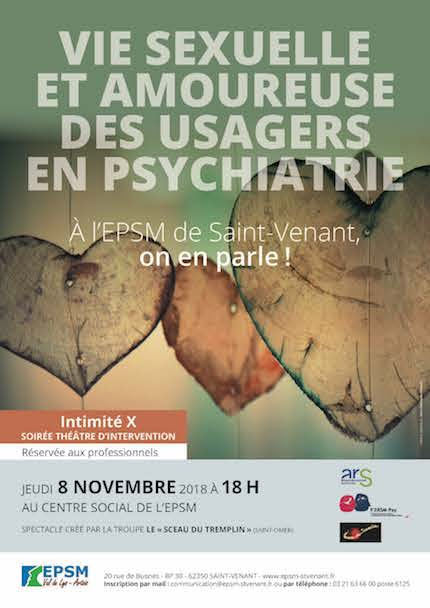 Vie sexuelle et amoureuse des usagers en psychiatrie : on en parle !