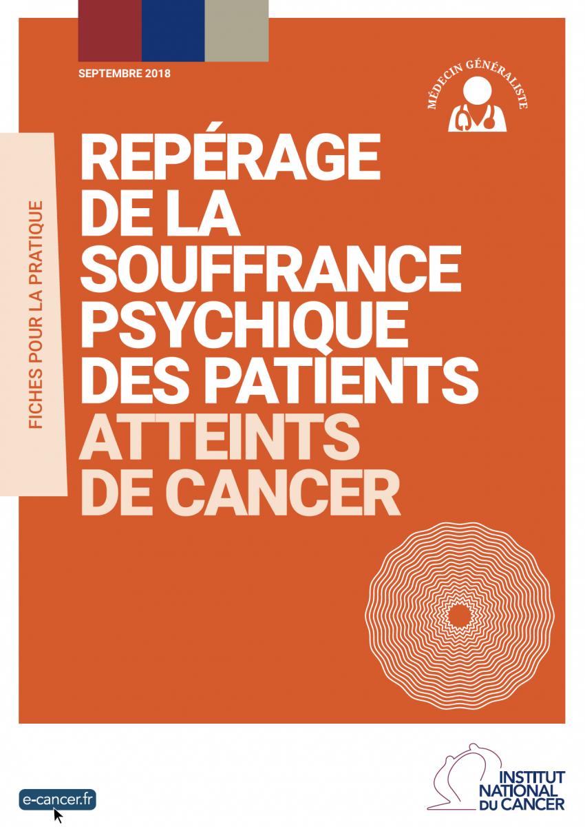 Repérer la souffrance psychique des patients atteints de cancer