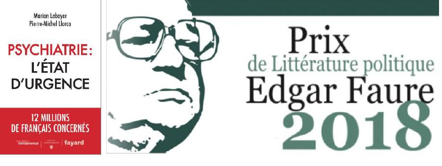 Prix Edgar Faure de la littérature politique pour