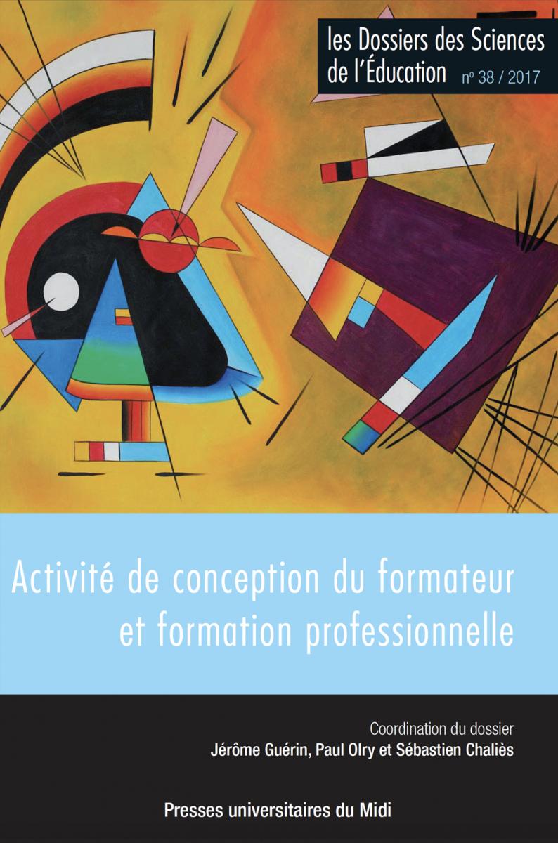 Activité de conception du formateur et formation professionnelle