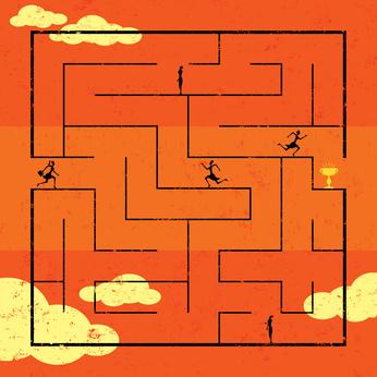 La labyrinthe des soins…