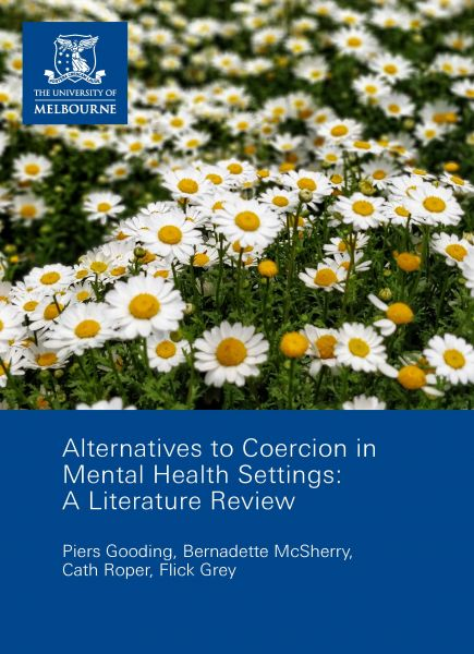 Alternatives à la contrainte en santé mentale : revue de littérature internationale