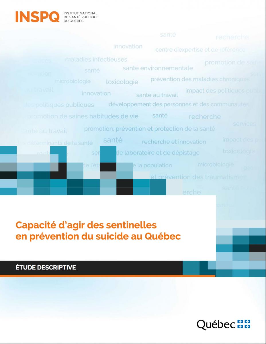 Suicide : capacité d'agir des sentinelles en prévention au Québec