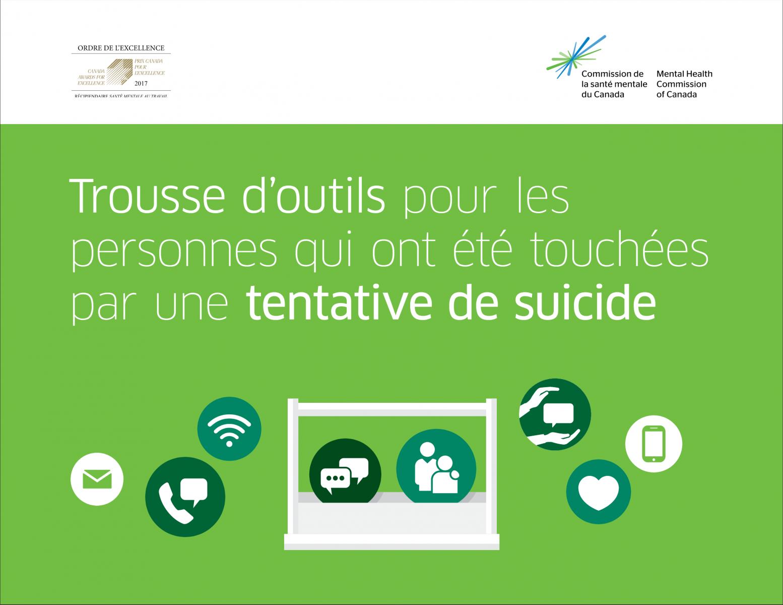 Trousse d'outils en prévention du suicide