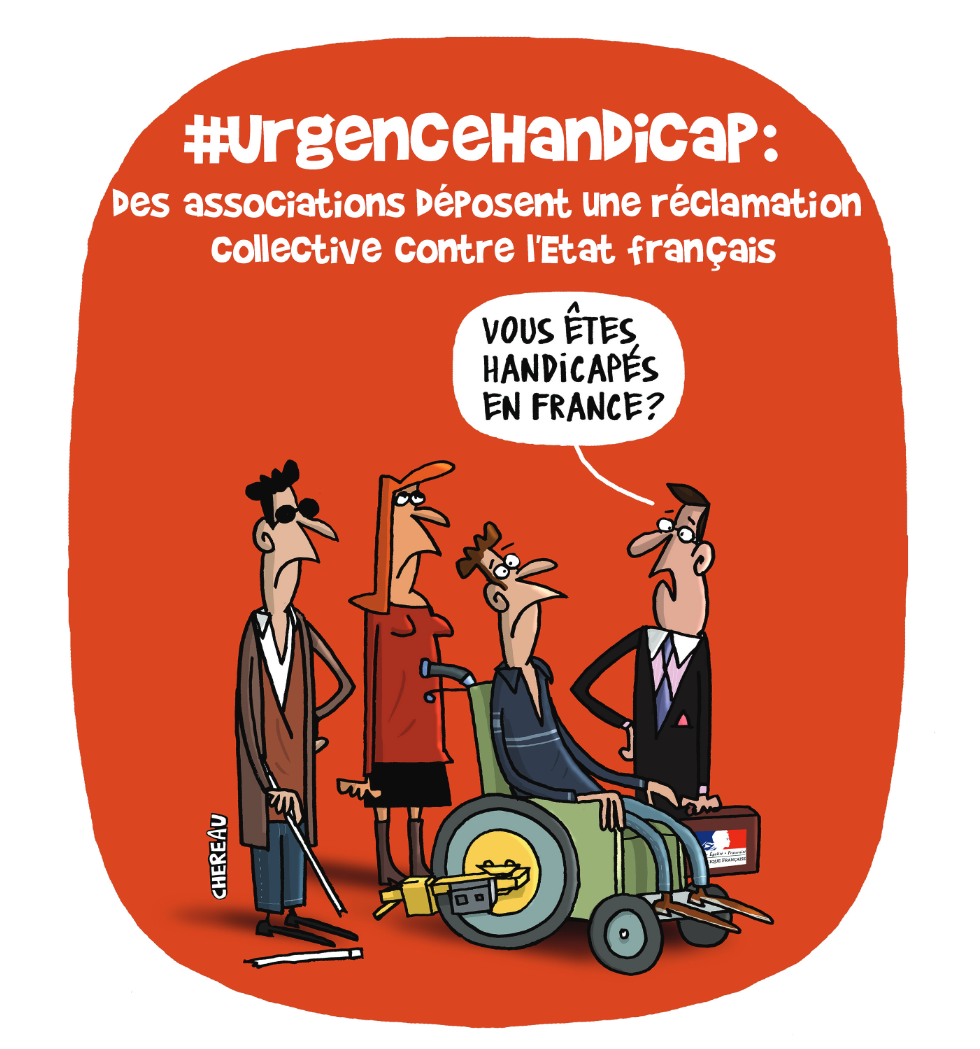 Urgence handicap : des associations déposent une réclamation collective contre l'Etat français