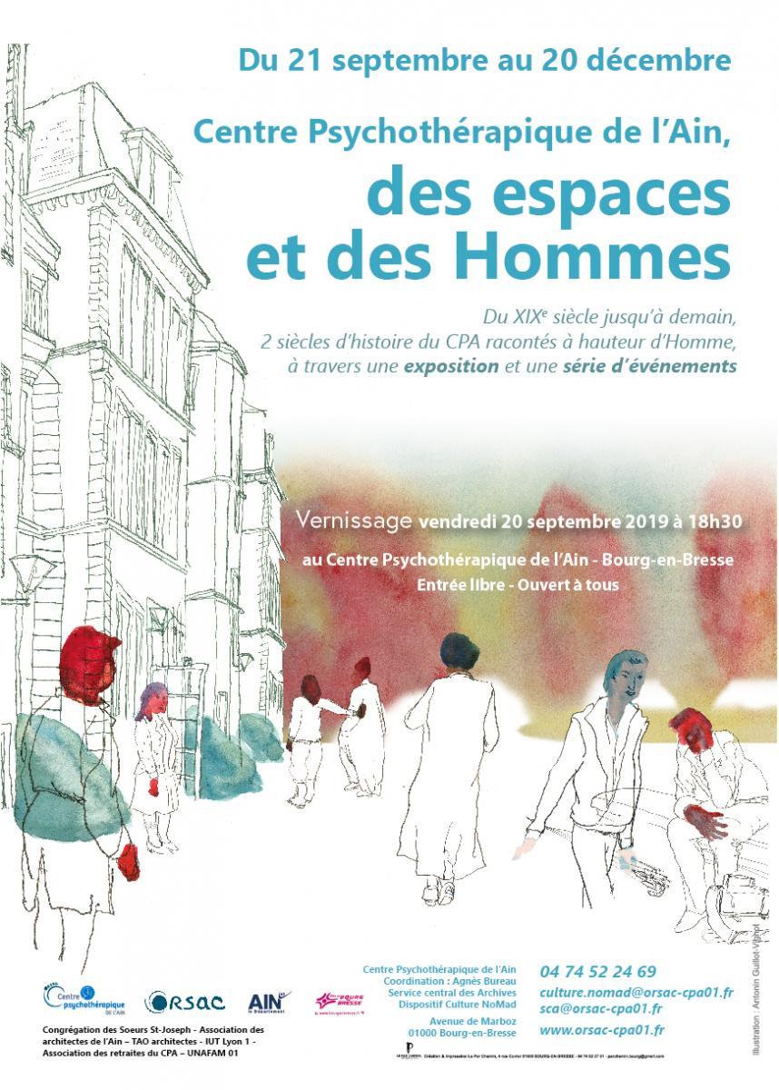 Exposition « Des espaces et des hommes »