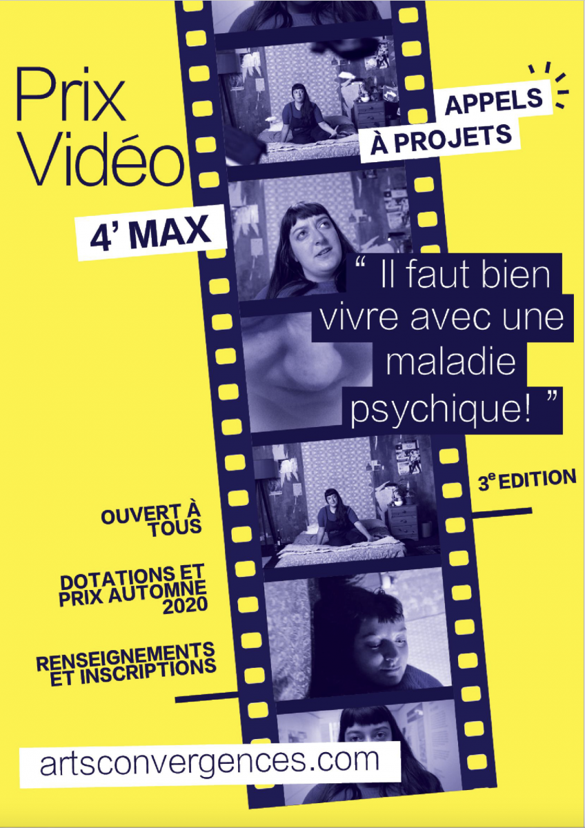 Prix vidéo Arts Convergences 3e Edition