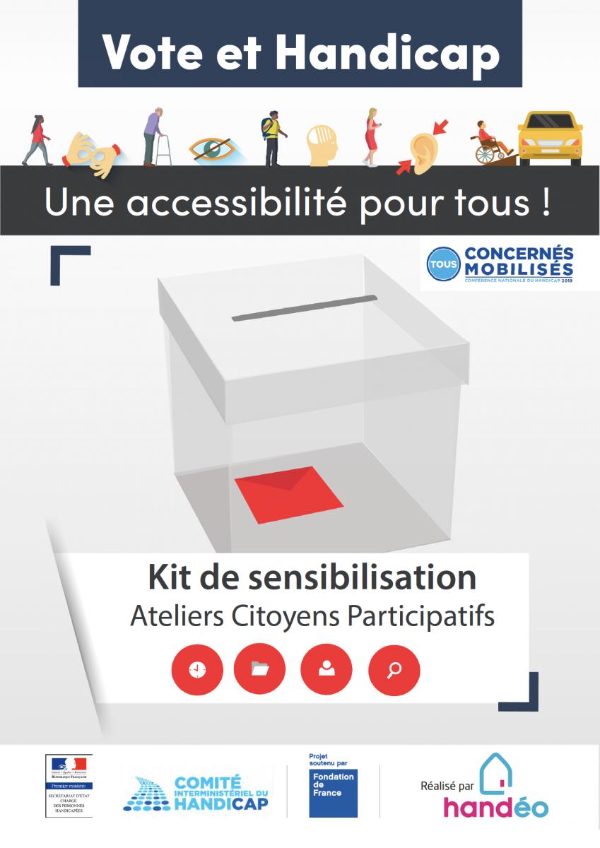 Un kit pour faciliter l'accès au vote des personnes handicapées