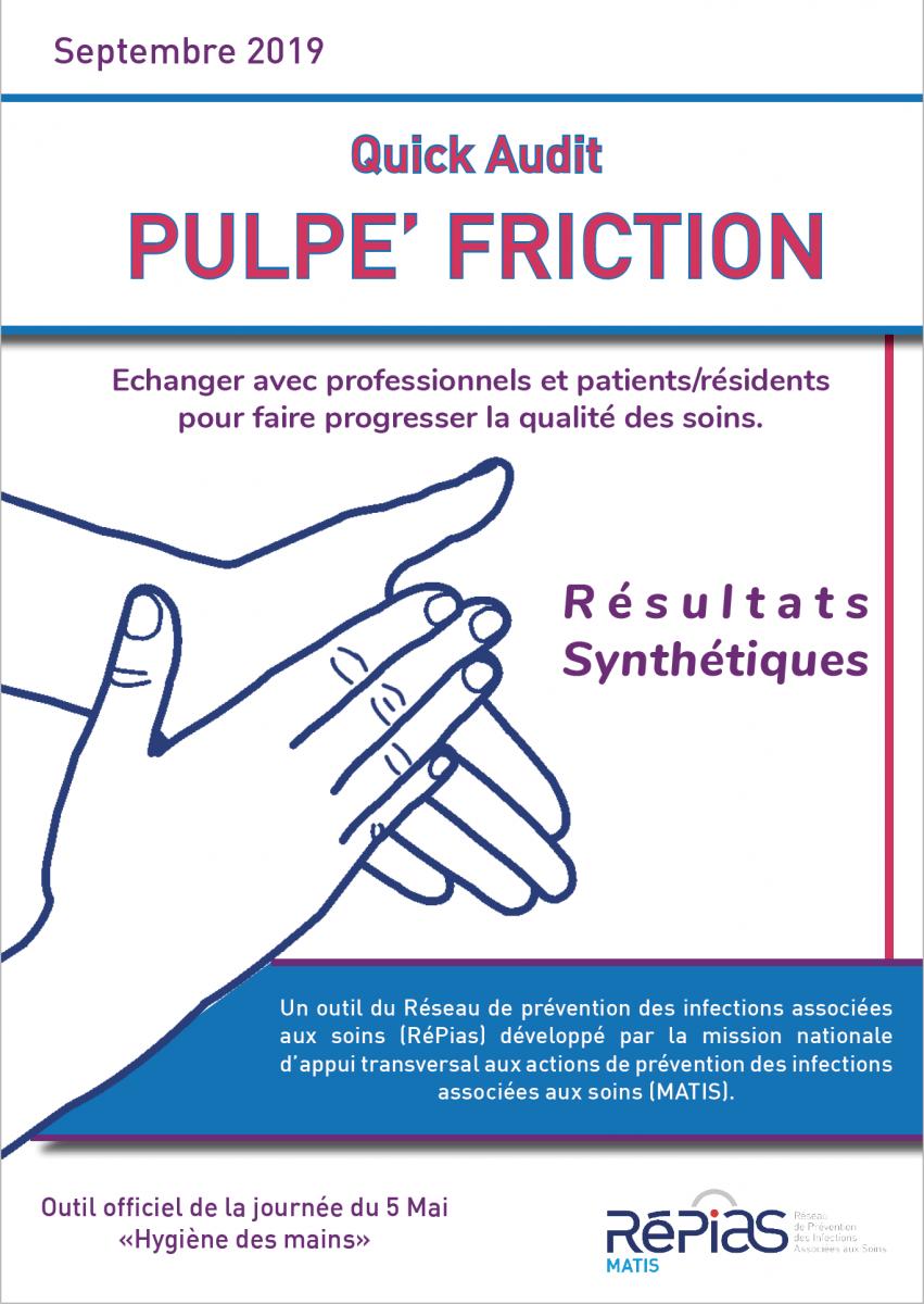 Sensibiliser à la friction des mains avant les soins