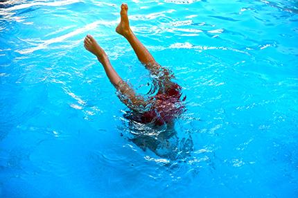 « Saïdou piscine oui… »