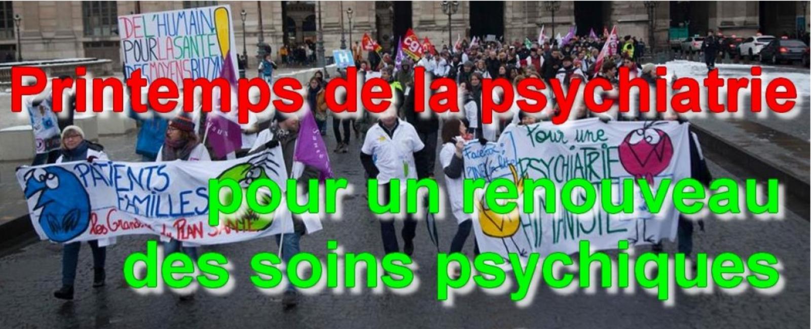 Le 21 mars, c'est aussi le printemps de la psychiatrie !