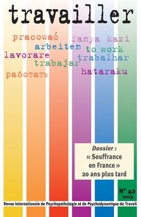 Parution du n°42 de la revue Travailler :