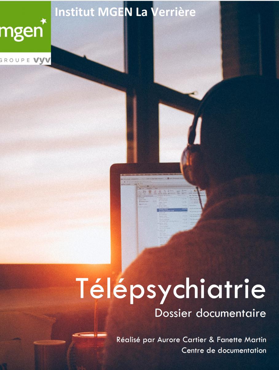 Télépsychiatrie : un guide bibliographique