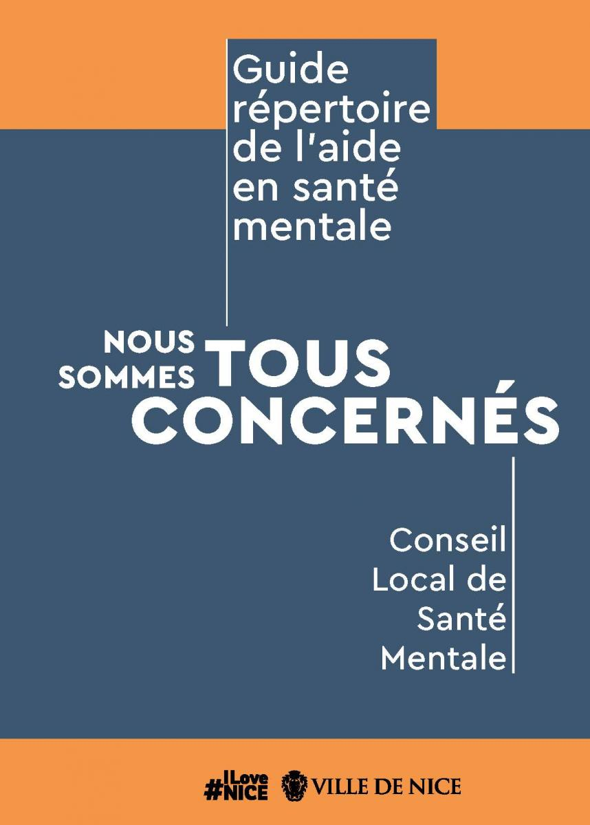 Guide répertoire de l'aide en santé mentale à Nice