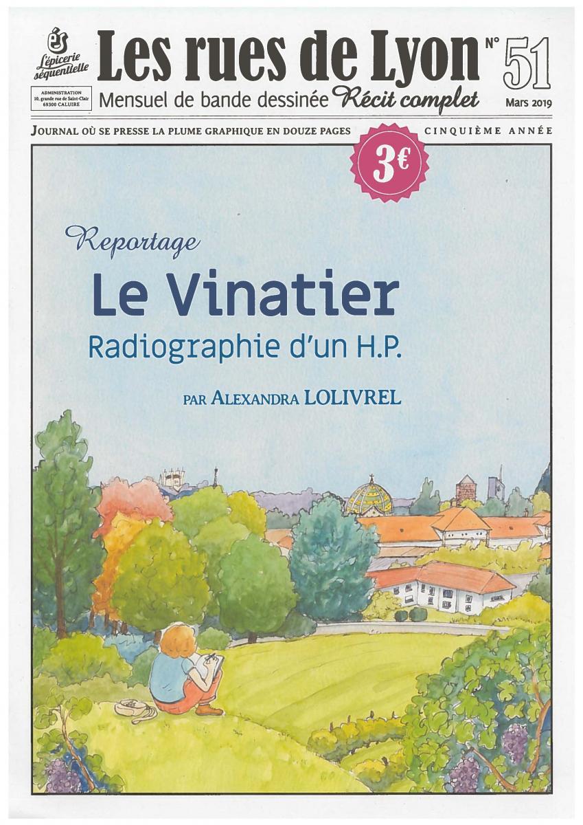Reportage : Le Vinatier, radiographie d'un H.P.