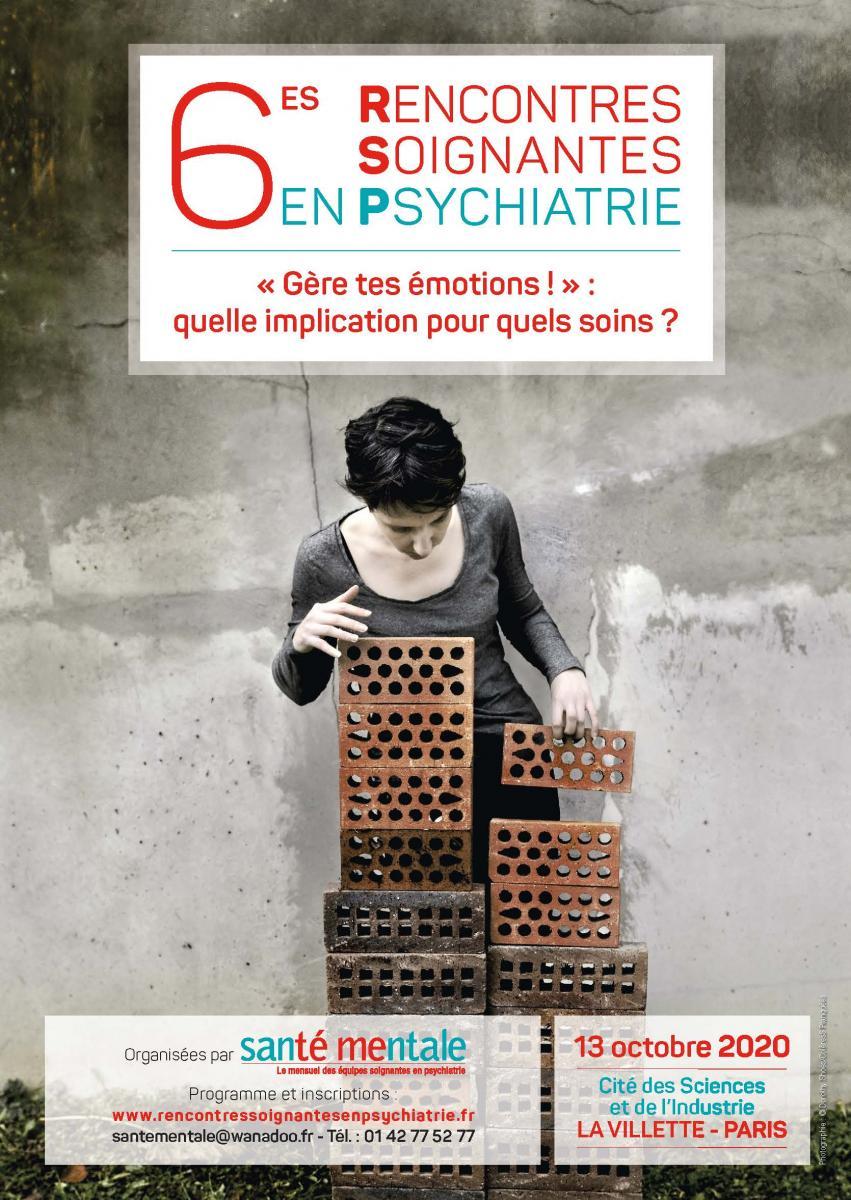 6es Rencontres soignantes en psychiatrie, les inscriptions sont ouvertes !