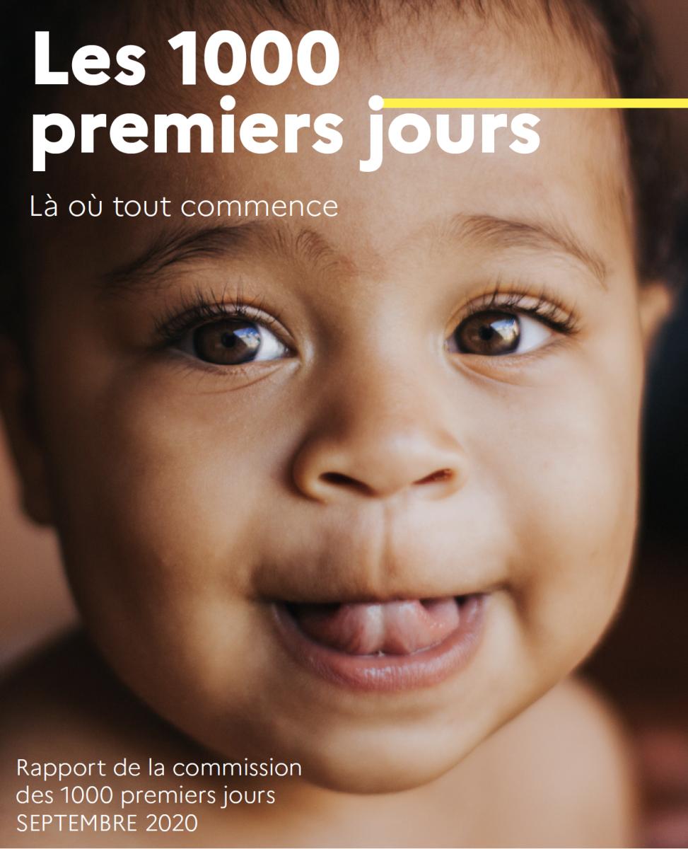 Les 1000 premiers jours : Boris Cyrulnik remet le rapport de la commission d'experts à Adrien Taquet, Secrétaire d'État en charge de l'Enfance et des Famille