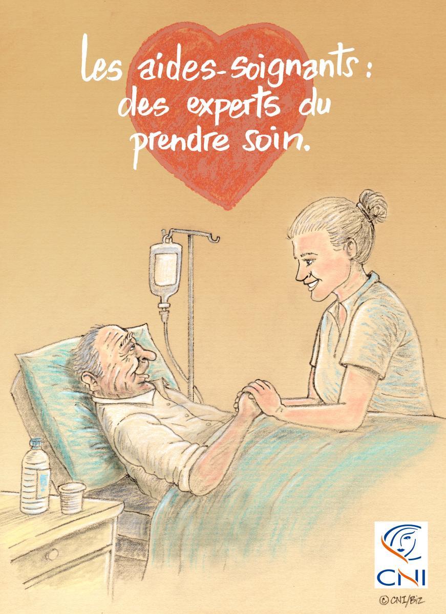 Soutenons les aides-soignants !