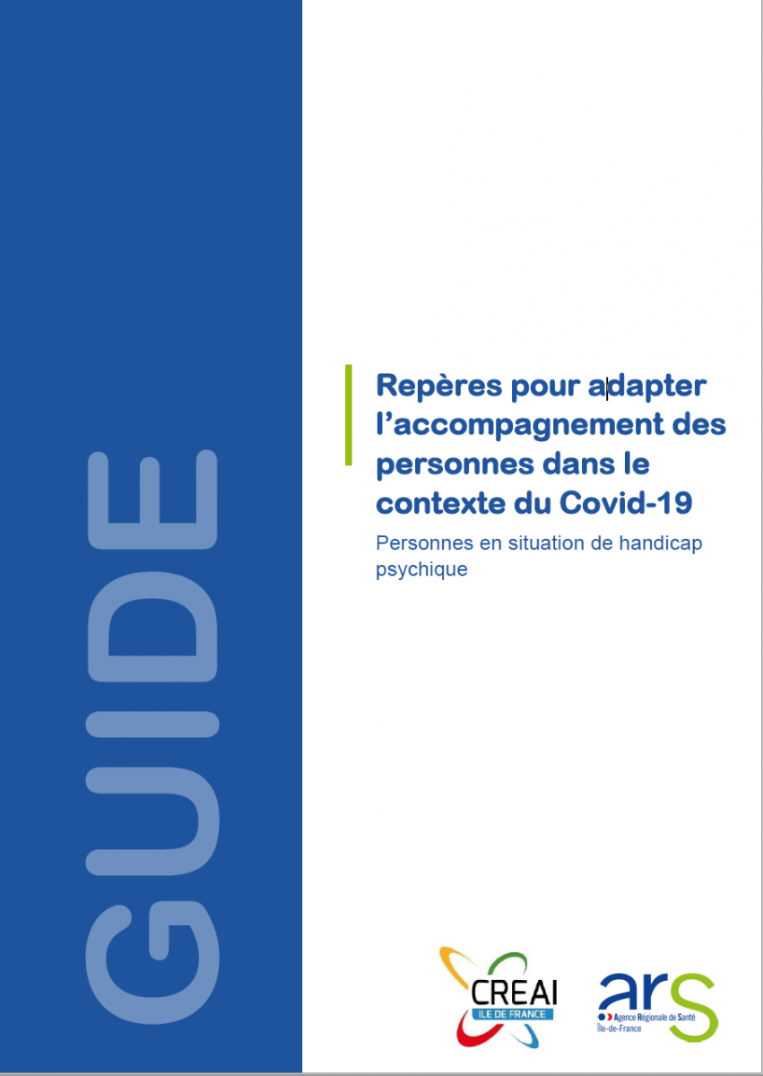 L'ARS Ile-de-France aiderles professionnels du handicap à organiser le confinement en ESMS