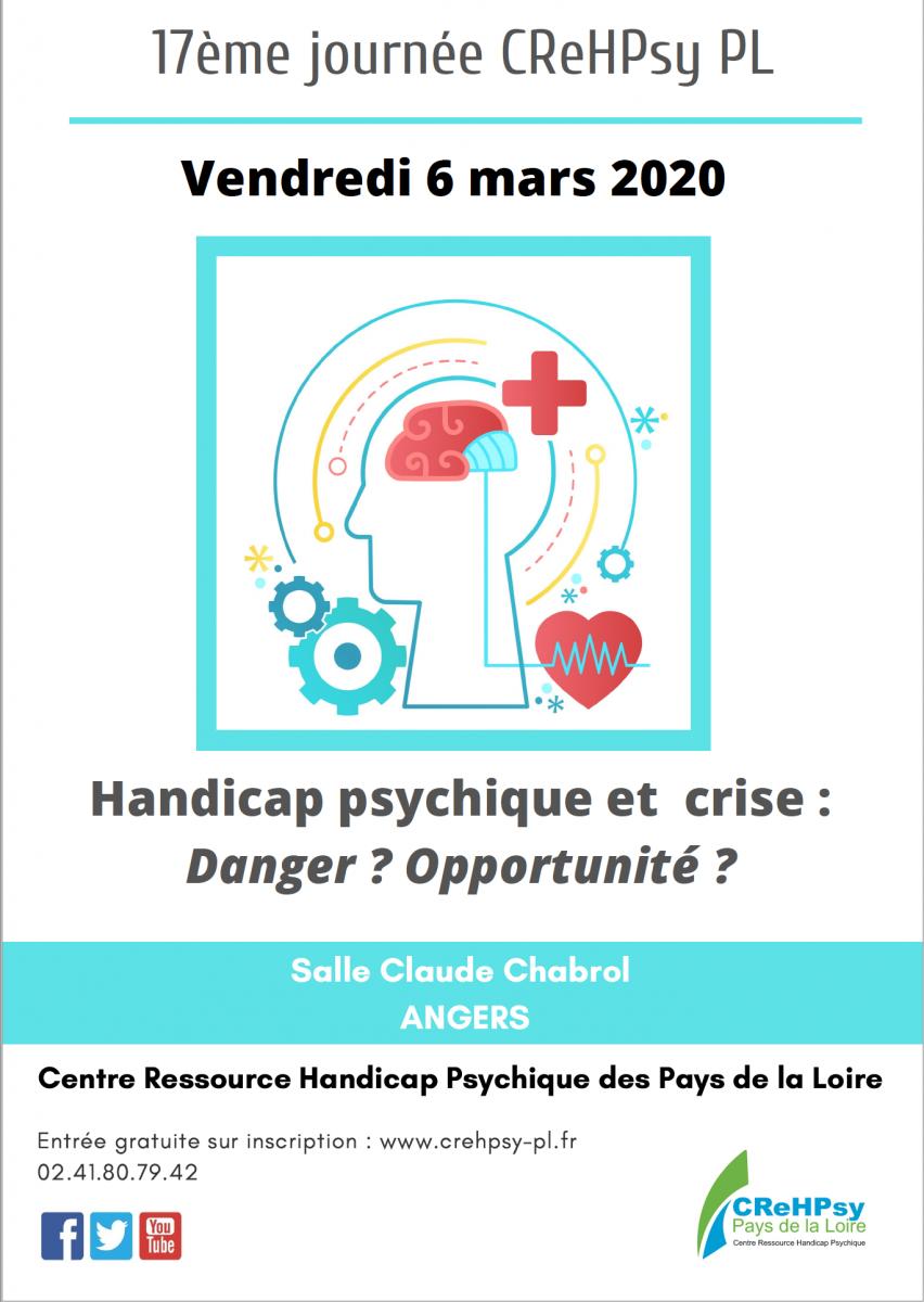 Handicap psychique et crise : Danger ? Opportunité ? »