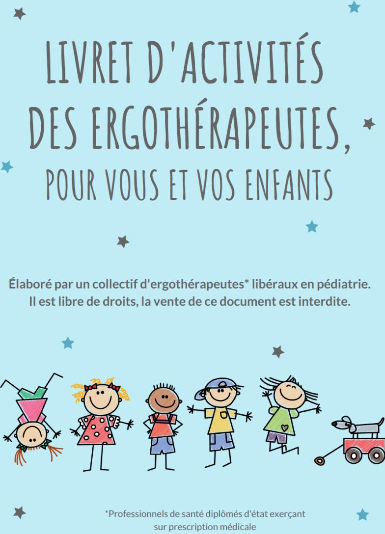 Des ergothérapeutes proposent un livret d'activités pour les enfants