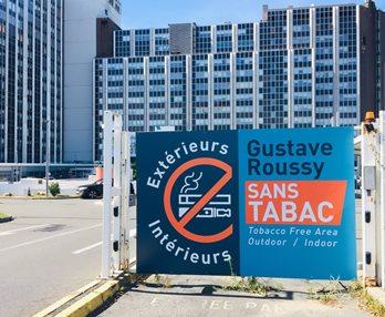 Lieu de santé sans tabac : Gustave-Roussy s'engage avec le Respadd