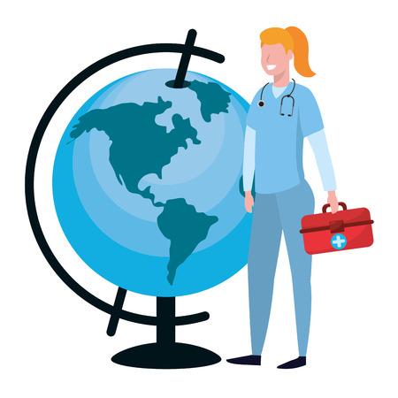 Les pays riches doivent former assez d'infirmières pour répondre à leurs propres besoins !