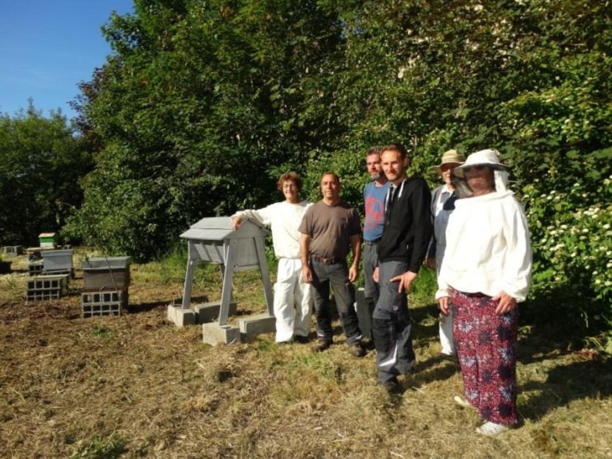 Les abeilles s'installent à l'EPSM de Caen