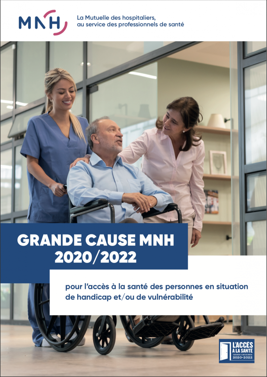 La Grande cause 2020-2022 de la MNH sera consacrée à l'accès aux soins des personnes handicapées