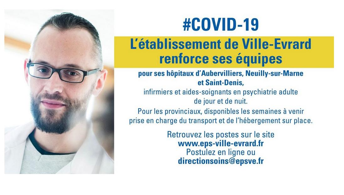Solidarité en psychiatrie entre l'EPSM de Ville-Evrard et le CH Henri Labor