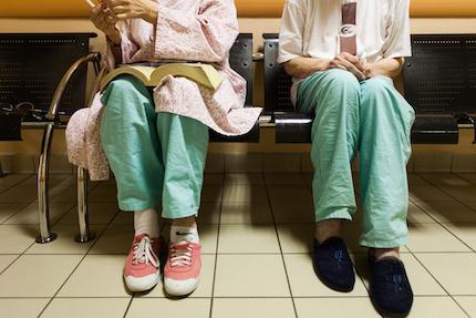 Le pyjama hospitalier