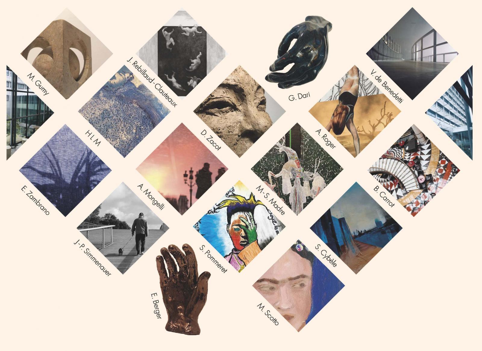 Exposition collective : Résonnances