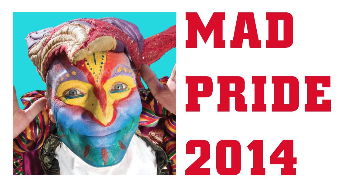 1ere Mad Pride pour le respect et la dignité des personnes souffrant de troubles psychiques