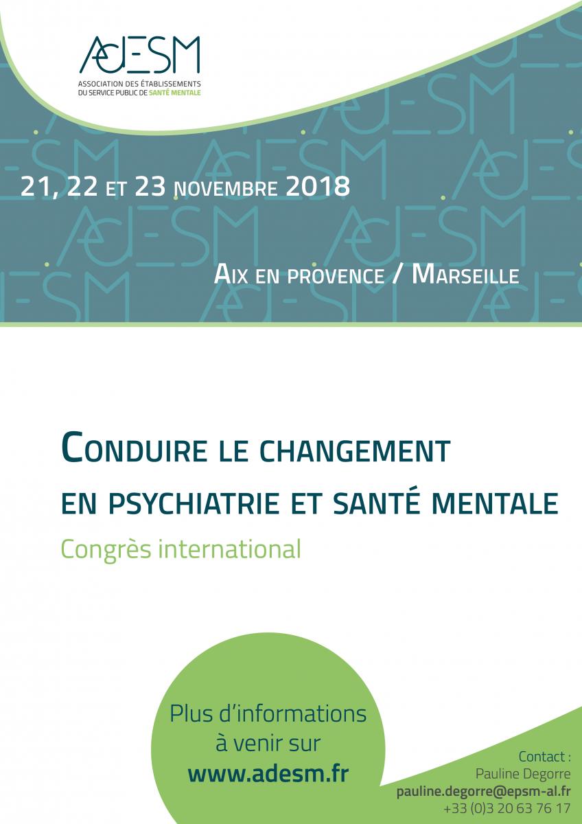 Conduire le changement en psychiatrie et santé mentale