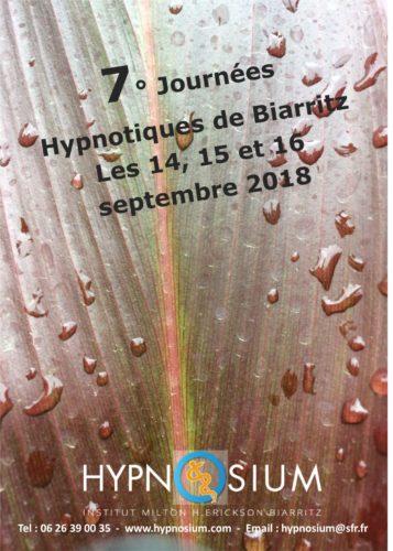 JOURNÉES HYPNOTIQUES DE BIARRITZ