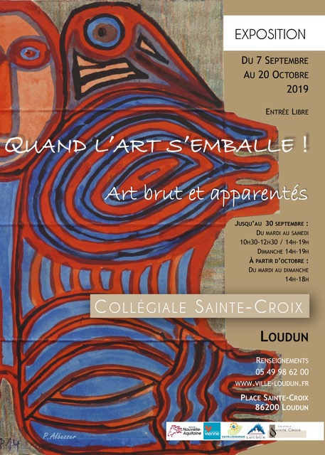 Quand l'art s'emballe !…